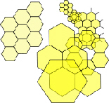 hexagon hierarchy