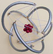icosahedron helix tensegrity